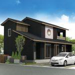 木のぬくもりのデザインの家【10】